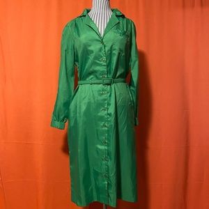 1960s Lady Manhattan Dress Co. Belted Shirtdress